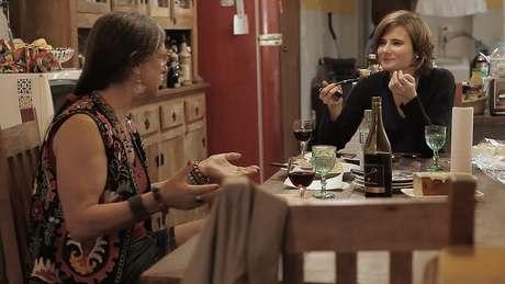 A diretora Eliane Brum foi a principal interlocutora de Laerte nas filmagens