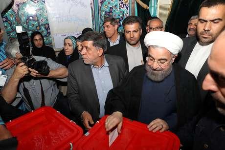Nesta eleição, Hassan Rouhani busca se reeleger