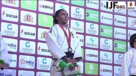 Érika Miranda conquistou único ouro brasileiro na Rússia até o momento (Foto: Gabriela Sabau/IJF)