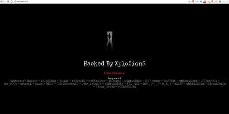 Hackearon el sitio web de Evópoli