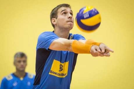 Thales fará sua estreia na Seleção principal na próxima semana (Foto: Marcio Rodrigues/MPIX/CBV)