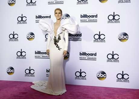 El look de Céline Dion.