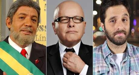 O saudoso Bussunda, do 'Casseta & Planeta'; Marcelo Tas, ex-'CQC'; e Rafinha Bastos, do 'Saturday Night Live': eles já tocaram o terror no meio político