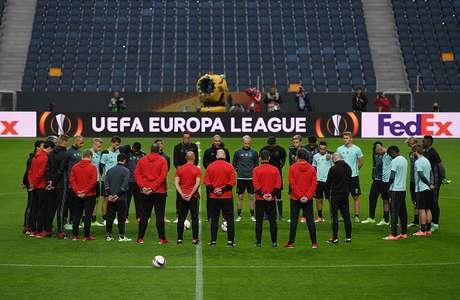 Listas las alineaciones para la final de Europa League