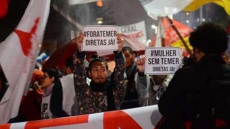 Áudio gravado por dono da JBS em conversa com Michel Temer e apresentado ao STF desencadeou protestos contra o presidente em diversas capitais