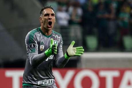Fernando Prass comemora mais uma vitória suada no Allianz