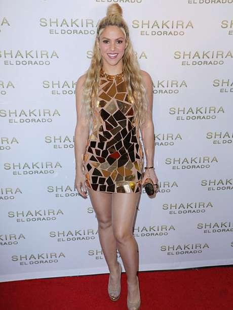 Shakira sexy en al presentación de 'El Dorado'.