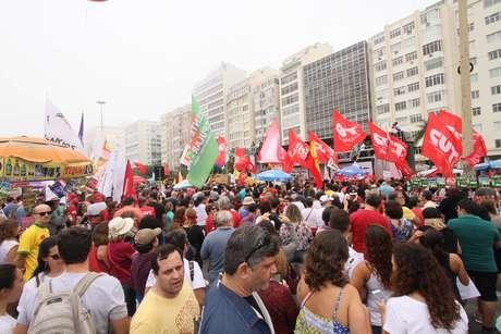 Copacabana é Diretas Já — AO VIVO