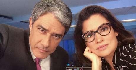 William Bonner e Renata Vasconcellos, âncoras do 'JN', o telejornal mais temido pelos políticos