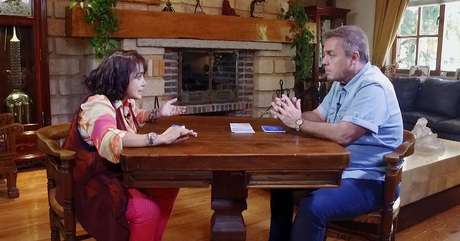 Cara a cara com Gugu, a atriz mexicana voltou a atacar sua inimiga número 1, Florinda Meza