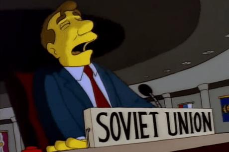 Ucrania trollea a Rusia ¡con gif de Los Simpson — Tensión política