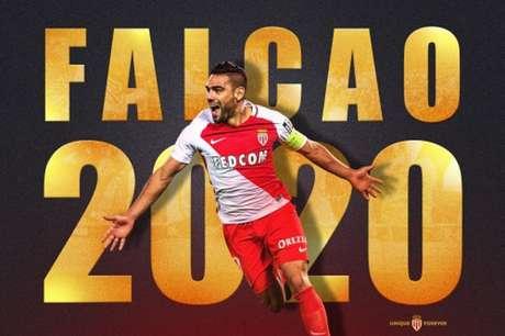 Oficial: Falcao renova contrato com o Monaco