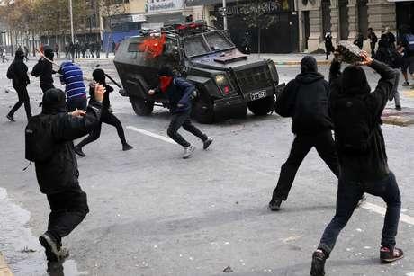 Movimientos sociales realizan hoy paro nacional en Chile