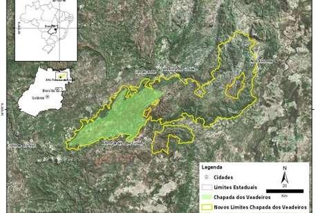 O decreto assinado pelo presidente Temer amplia de 65 mil hectares para 240 mil hectares