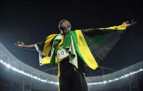 Usain Bolt soma 13 medalhas em Mundiais (11 ouros e duas pratas) (Foto: JOHANNES EISELE)