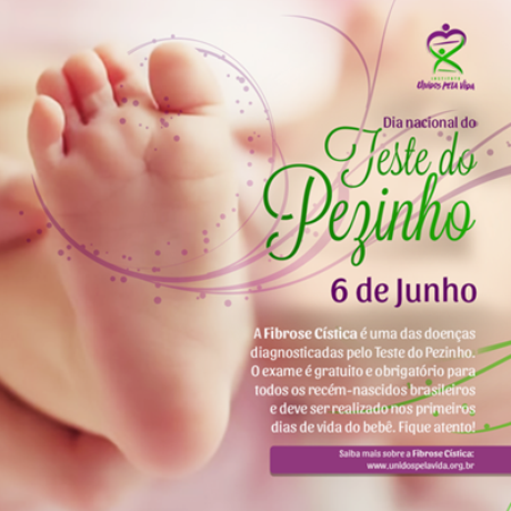 100% das crianças nascidas no Paraná fizeram o teste do pezinho