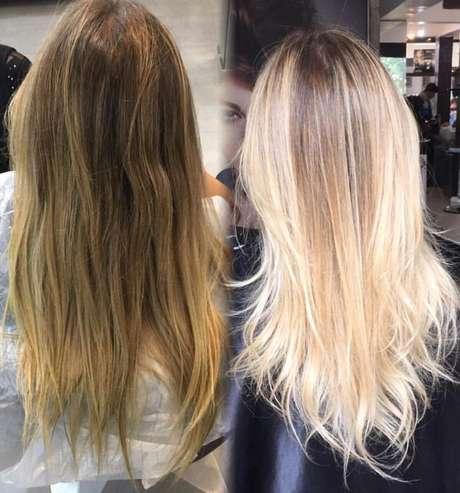 Um bom tratamento nos cabelos acaba com a tonalidade esverdeada dos fios
