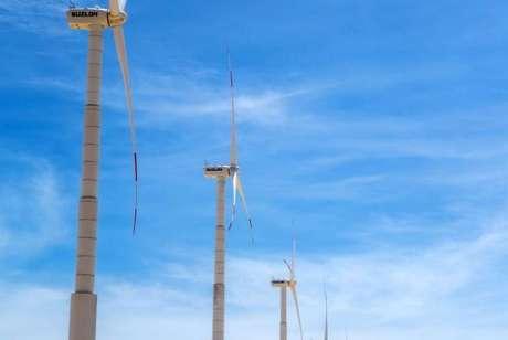 """""""Cataventos gigantes"""" permitem o aproveitamento dos ventos para gerar eletricidade"""