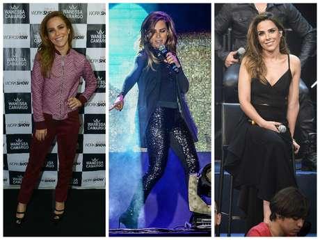 Wanessa Camargo em 3 versões