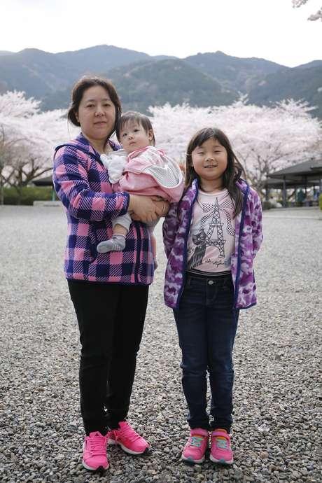 Cristina Hatori fez duas cesáreas no Japão e ficou com a cicatriz na vertical