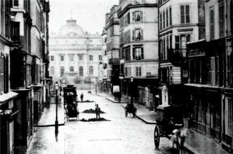 Rua Lutécia ao redor de 1850