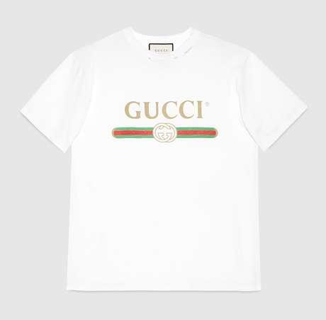 Camiseta de R$ 1,8 mil.