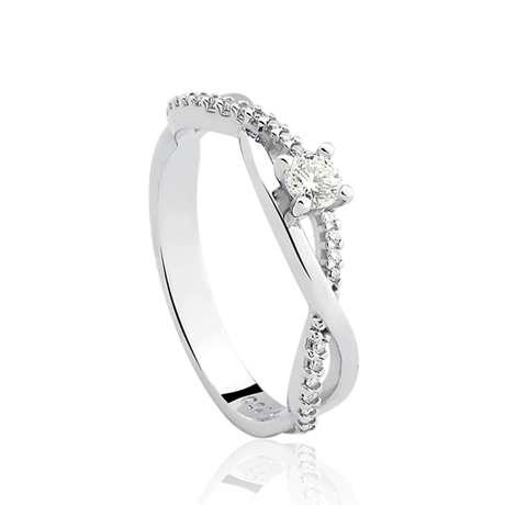 Solitário com diamante de 39 pontos da Vivara