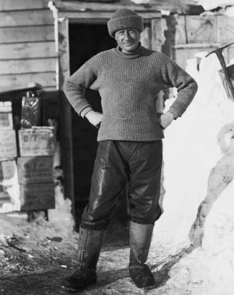 Edward Wilson morreu durante a expedição do capitão Robert Falcon Scott ao Polo Sul