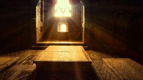 As criptas são lugares ideais para proteger os cadáveres da água
