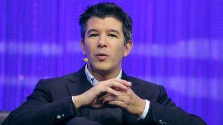 O fundador do Uber, Travis Kalanick