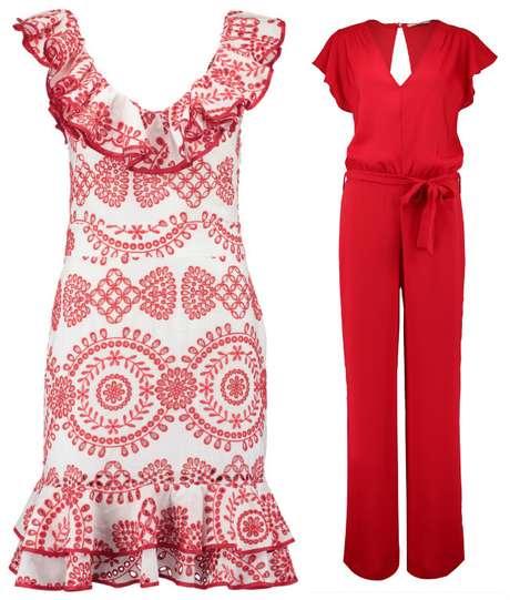 Vestido (R$ 750)  e macacão (R$ 489)  da coleção Alegria Latina, de Ana Hickmann (Fotos: Divulgação)