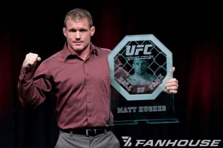 Matt Hughes é membro do Hall da Fama do UFC