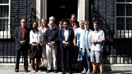 Encontro com Theresa May