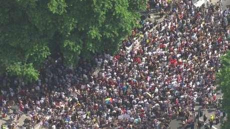 Protesto em Whitehall