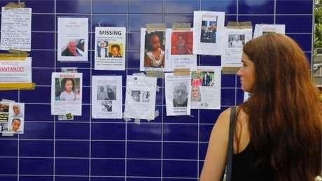 Fotos de desaparecidos