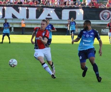 Joinville ficou no empate com o São Bento-SP (Foto: Reprodução / Twitter)