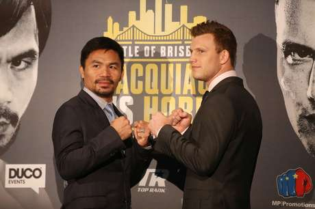 Manny Pacquiao e Jeff Horn