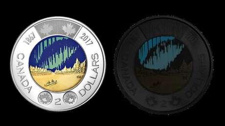 A nova (e brilhante) moeda canadense