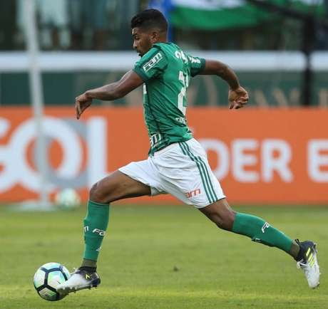 Thiago Santos vinha sendo titular no Verdão - Foto: Cesar Greco/Palmeiras