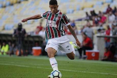 Mascarenhas, de 18 anos, estreou no Fluminense neste domingo (Foto: Lucas Merçon/Fluminense F.C.)