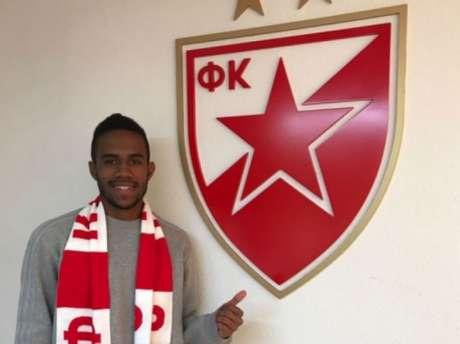 Mateus Viveiros deixou a base tricolor para ser profissionalizado pelo Estrela Vermelha (Foto: Divulgação)