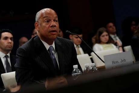 O ex-secretário de Segurança Nacional dos EUA, Jeh Johnson