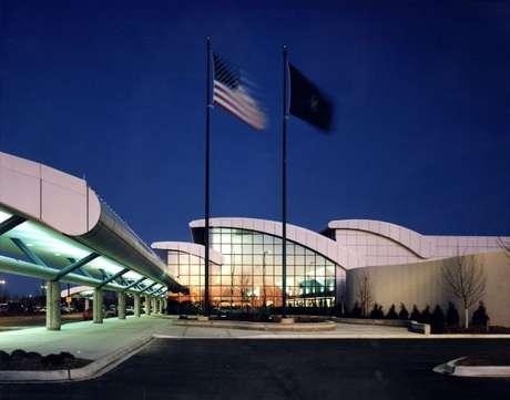O aeroporto internacional de Bishop, em Flint, no Michigan