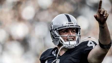 Derek Carr foi escolhido pelos Raiders no Draft de 2014