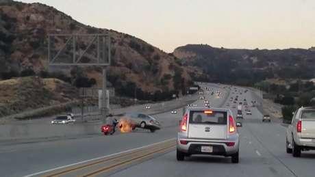 Ação de motociclista causou grave acidente nos Estados Unidos