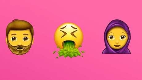 Novos emojis devem ficar disponíveis em breve nos celulares de todo o mundo