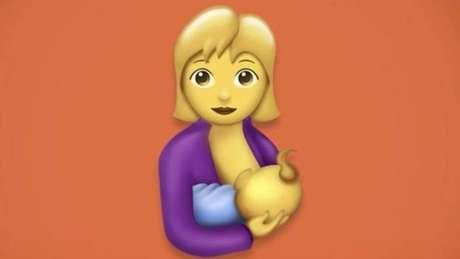 Mulher amamentando está entre os novos emojis divulgados pelo Consórcio Unicode