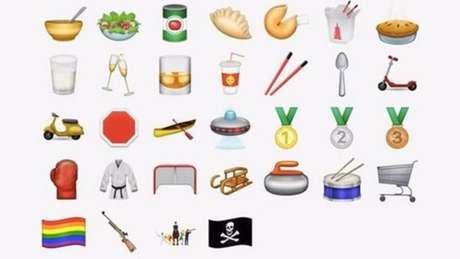 Novos emoticons deverão estar disponíveis em celulares a partir de setembro