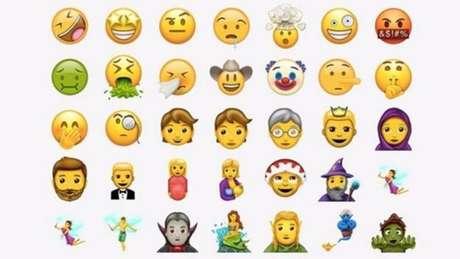 Novo pacote de emojis contém 56 figuras
