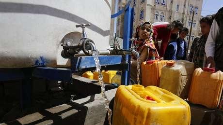 Caminhão piopa em Sanaa